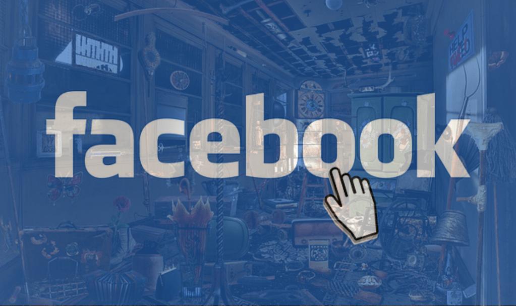 du fouillis derrière Facebook