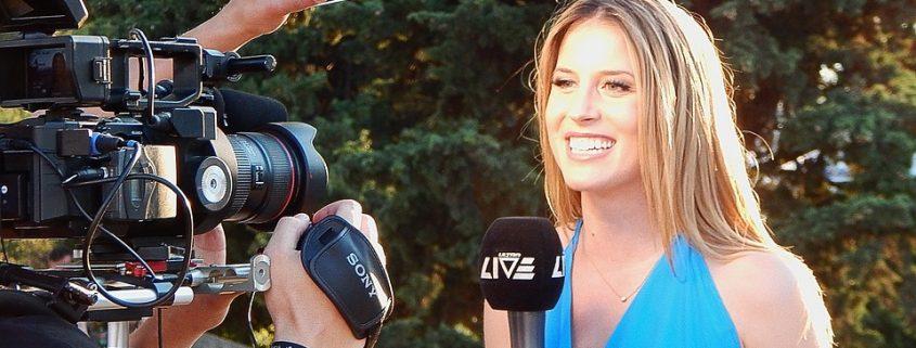journaliste interviewée