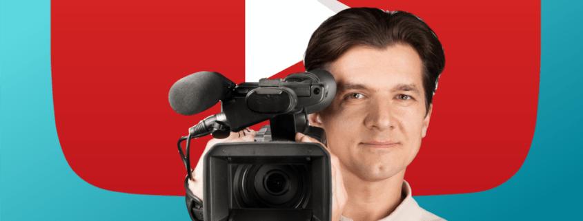 cameraman pour YouTube