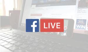 Facebook Live sur ordinateur