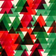 sapins de Noël stylisés