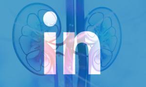 Logo LinkeIn devant deux reins