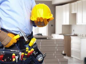 ouvrier avec ses outils