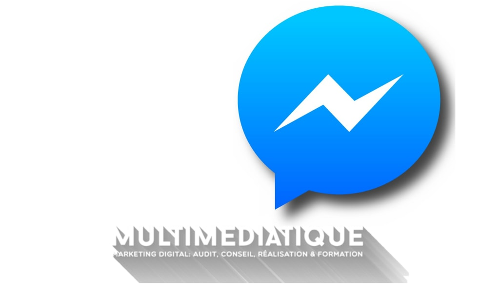 logos Messenger et Multimediatique