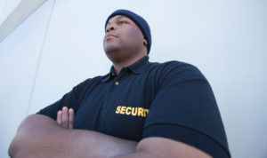 vigile en uniforme